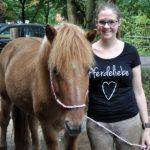 T-Shirt von Pferdeliebe
