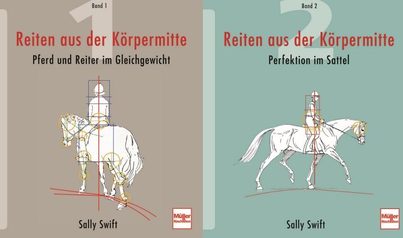 Sally Swift Reiten aus der Körpermitte - Titelbilder