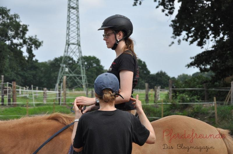 Mithilfe von Centered Riding zu einer besseren Reiterhand