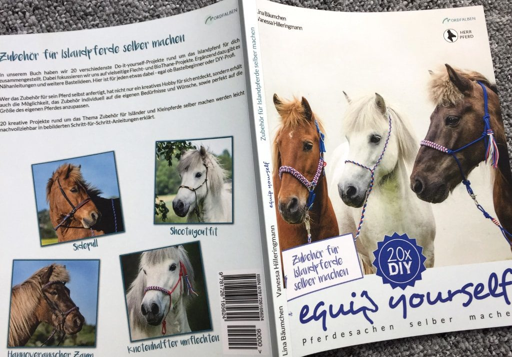 Buchcover Zubehör für Islandpferde selber machen