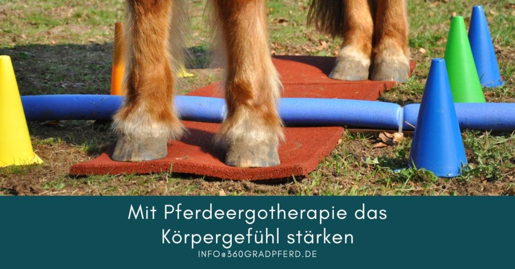 Mit Pferde Ergotherapie die Körperwahrnehmung stärken und die Koordination verbessern
