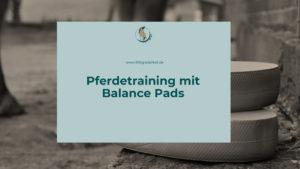Pferdetraining mit Balance Pads