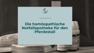 Die homöopathische Stallapotheke