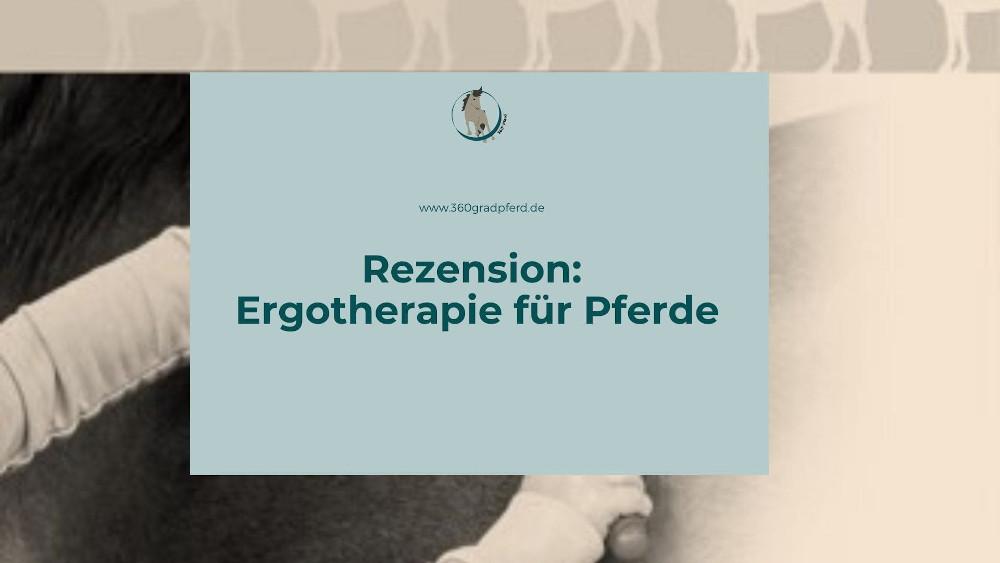 Rezension Ergotherapie für Pferde