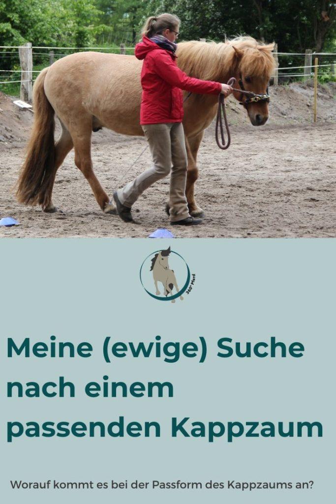 Die Suche nach einem Kappzaum der dem Pferd passt und ihm auch angenehm ist, ist gar nicht so leicht
