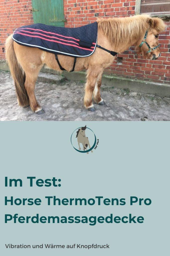 Die Pferdemassagedecke HorseThermoTens Pro