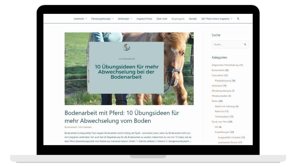 Blog 360° Pferd