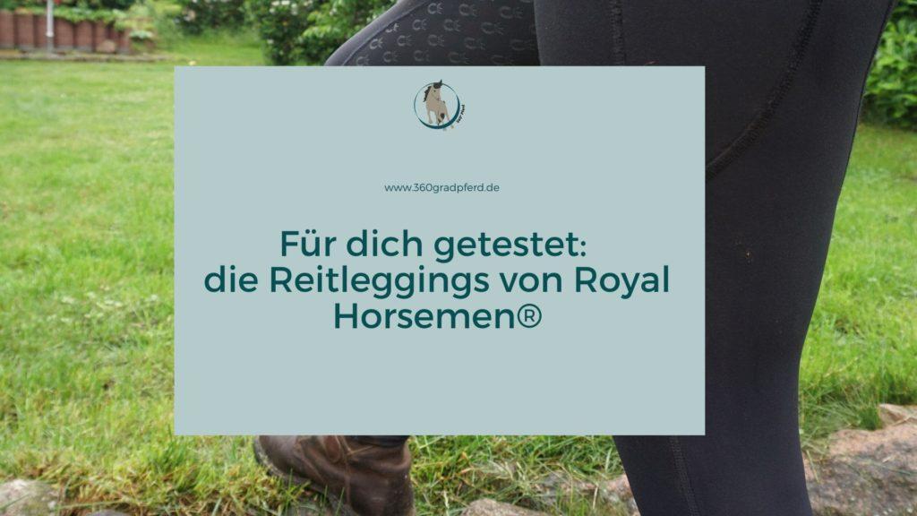 Im Test die Reitleggings von Royal Horsemen