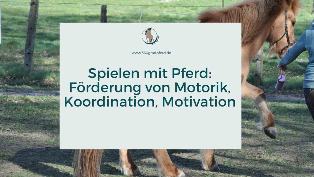Spielen mit Pferd Motorik Koordination Motivation