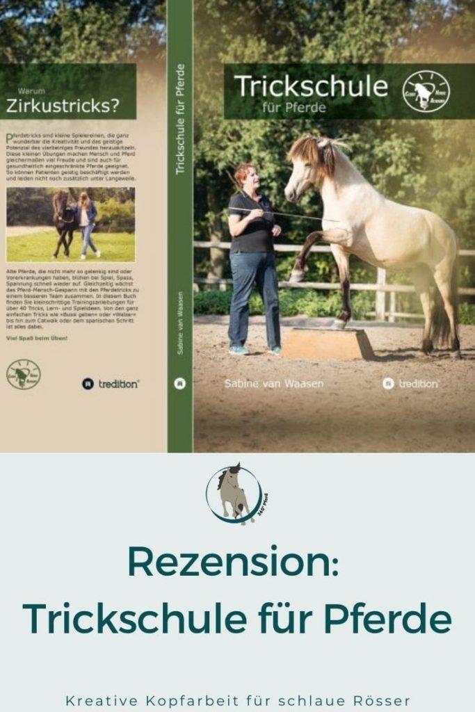 Buchvorstellung Tricktraining für Pferde
